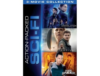 33% off Action Packed Sci-Fi 3-Movie Collection (DVD)