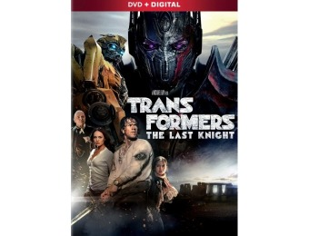 83% off Transformers: The Last Knight (DVD)