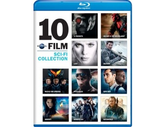 50% off Universal 10-Film Sci-Fi Collection (Blu-ray)