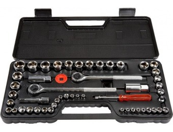 28% off Stalwart 1/4, 3/8 and 1/2 Drive Socket Set SAE and Metric