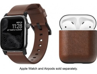 $40 off Apple Watch Leather Strap and AirPod Case