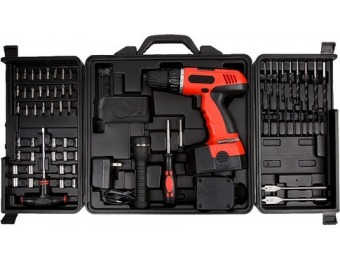 $25 off 78 Piece Cordless Drill Tool Set