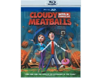 87% off Cloudy with a Chance of Meatballs (3D Blu-ray)