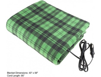 43% off 12 Volt Electric Blanket for Automobile