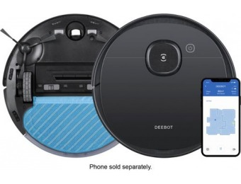 $150 off DEEBOT OZMO T5 Wi-Fi Connected Robot Vacuum & Mop
