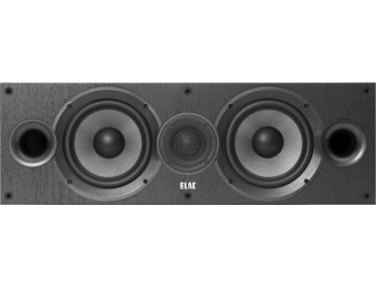 "$165 off ELAC Debut 2.0 Dual 6-1/2"" 2-Way Center-Channel Speaker"