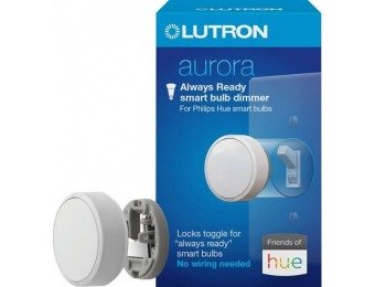 $10 off Lutron Aurora Smart Bulb Dimmer Switch for Philips Hue