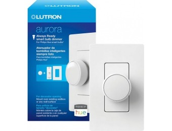 $8 off Lutron Aurora Smart Bulb Dimmer/Paddle Switch