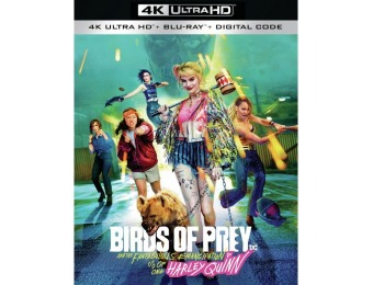 77% off Birds of Prey (4K Ultra HD/Blu-ray)