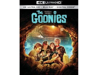 60% off The Goonies (4K Ultra HD Blu-ray)