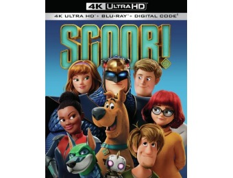 67% off Scoob! (4K Ultra HD/Blu-ray)