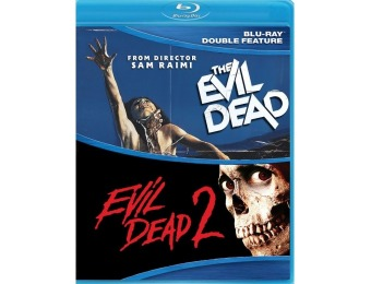 42% off Evil Dead 1 and 2 (Blu-ray)