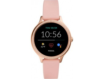 $100 off Fossil Gen 5e Smartwatch 42mm Silicone - Pink