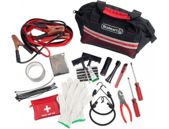 $10 off Fleming Supply Roadside Emergency Kit - 55 Pieces