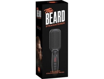 43% off Wild Willies 2-in-1 Beard Straightening Brush