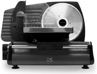 $80 off Kalorik 180 Watts Professional Style Food Slicer