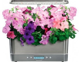 $80 off AeroGarden Harvest Elite Slim - Flower - Stainless