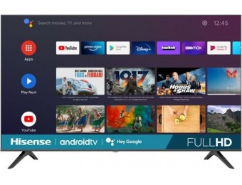 "$120 off Hisense 43"" H5510G Series LED Full HD Smart Android TV"