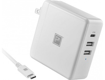 $45 off Platinum 95W 8' USB-C 3-Port Wall Charger