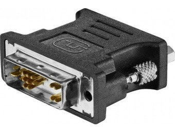 50% off Insignia DVI-A to VGA Adapter