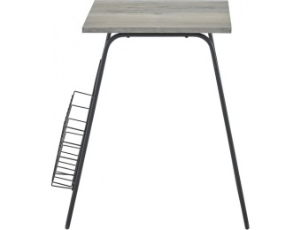 $64 off Walker Edison Square Modern Side Table - Gray Wash