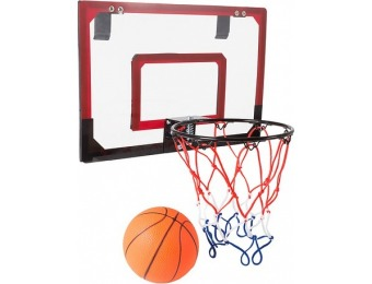 $10 off Mini Basketball Hoop with Ball and Breakaway Spring Rim