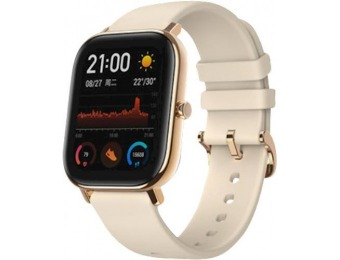 $40 off Amazfit GTS Smartwatch 42mm Aluminum - Desert Gold