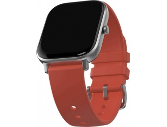 $40 off Amazfit GTS Smartwatch 42mm Aluminum - Vermillion Orange