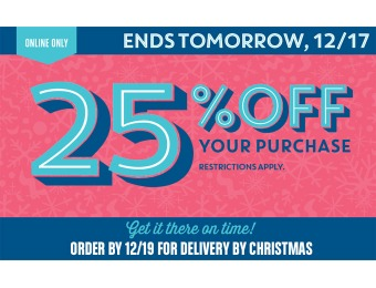 Save 25% off Your Online Purchase at Old Navy