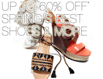 Up to 60% off Spring's Best Shoes - Rebecca Minkoff and more