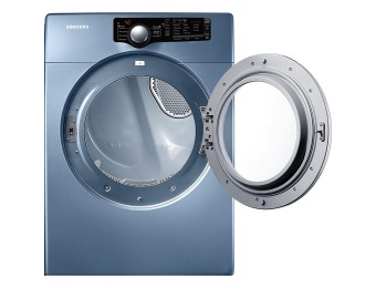 $235 off Samsung DV363EWBEUF Electric Dryer + $50 Gift Card