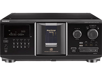 $60 off Sony CDP-CX355 300 Disc CD Changer w/ code ATJANDR