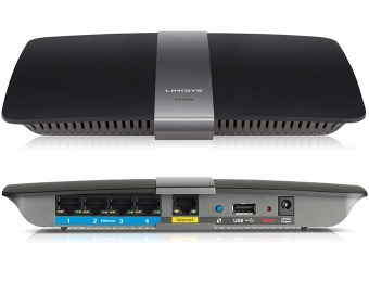 $147 off Linksys EA4500 N900 Dual-Band Wireless Gigabit Router