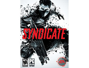 85% off Syndicate PC Game w/ promo code EMCXVXN92