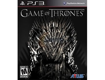 72% off Game of Thrones Video Game (PS3)