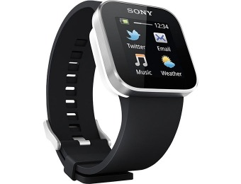 $78 off Sony SmartWatch Android Bluetooth Smartphone Watch