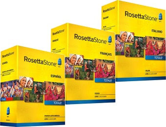 $110 off Rosetta Stone TOTALe - Level 1, 2, 3, 4, & 5 Set (9 options)