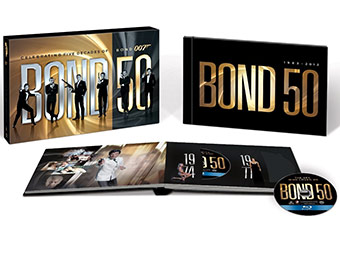 $170 off Bond 50: The Complete 22 Film Collection (Blu-ray)