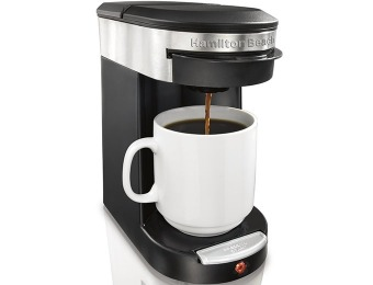 25% off Hamilton Beach 49970 Personal Cup One Cup Pod Brewer