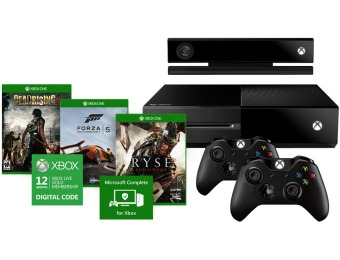 $70 off Xbox One Ultimate Bundle, 3 Games, Two Controllers & more