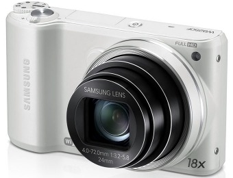 $121 off Samsung WB250F 14.2MP CMOS Smart WiFi Digital Camera