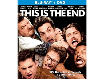 50% off This Is The End (Blu-Ray + DVD + Digital)