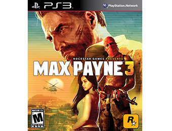 Extra 40% off Max Payne 3 (PlayStation 3)