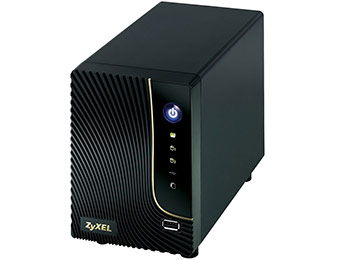 44% off ZyXEL NSA320 2-bay Network Attached Storage Server