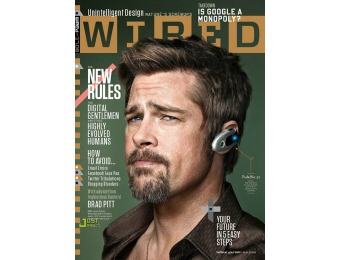 $54 off Wired Magazine Subscription, $4.99 / 12 Issues