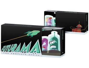 $152 off Futurama: The Complete Series (DVD)