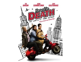 $22 off Bored To Death Complete 3rd Season DVD