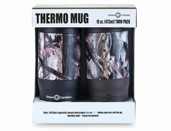 $8 off Camouflage Thermo Mug 2-Pack