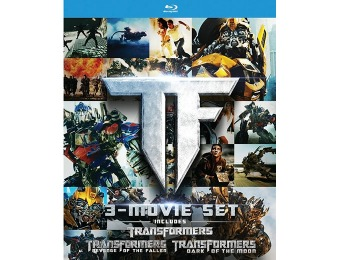 62% off Transformers Trilogy Blu-ray Gift Set