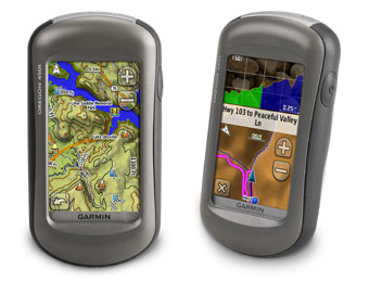 23% Off Garmin Oregon 450t GPS with a 3-axis compass